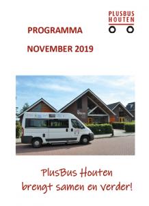 plusbus houten programma november 2019