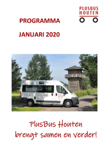 Plusbus Houten programma Januari